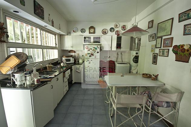 The kitchen at the house in Palermo