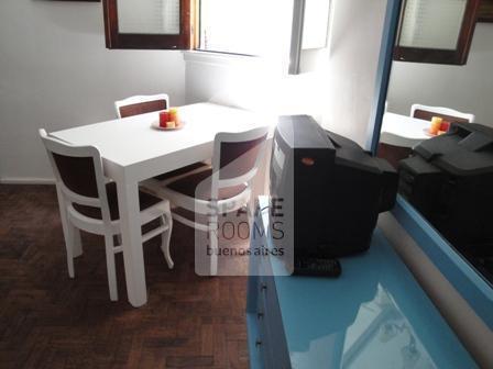 El comedor en la habitaci�n/ departamento en Palermo
