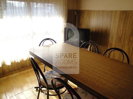 La habitación en la casa de Núñez