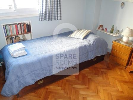 The room at the apartment in Recoleta