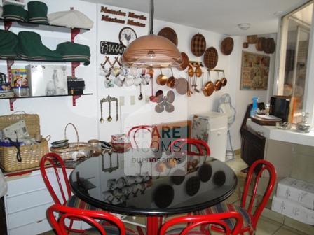 The kitchen at the apartment in Belgrano