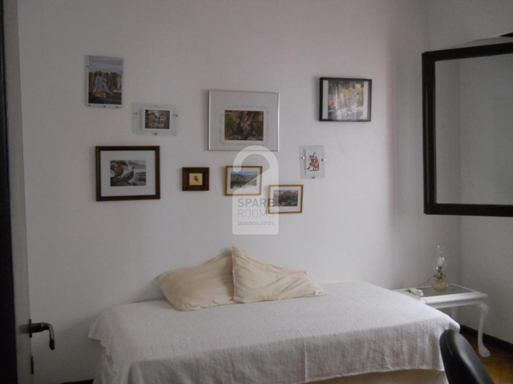 The room at the apartment in Belgrano