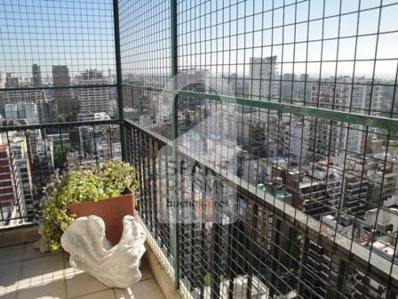 The view from the apartment (26 floor) in Belgrano