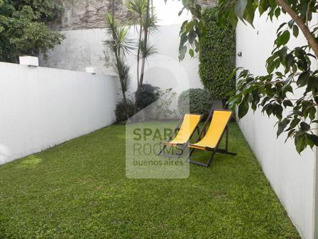 The garden at the ph in Nu�ez