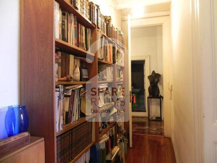 The corridor at the apartment in San Telmo
