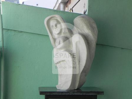 Sculpture made by the owner of the house in Caballito