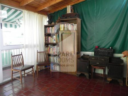The common area at the house in Caballito