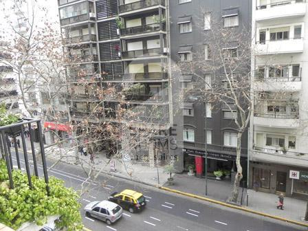 The view of the room at the apartment in Recoleta