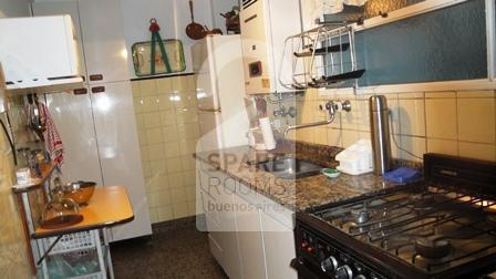 Kitchen at the apartment in Almagro