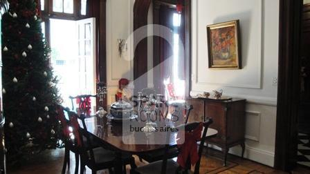 The dining room frech style at the apartment in  Downtown/Retiro