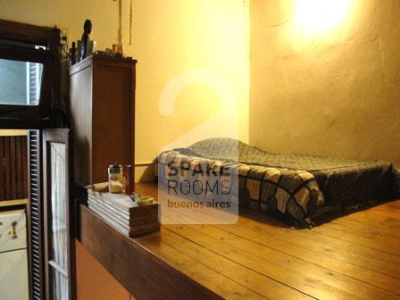 Comfortable room with mezzanine