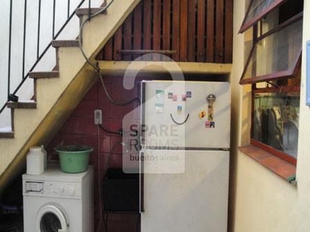The refrigerator and washing machine