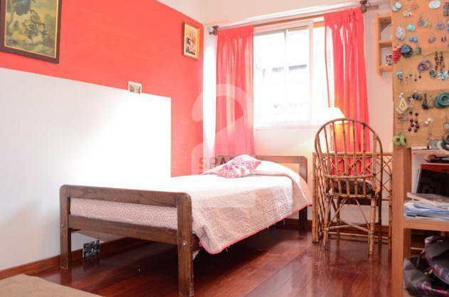 The bright room at the house in Almagro neighborhood.