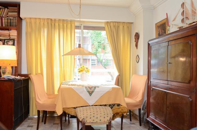 The dining area at the house in Almagro.