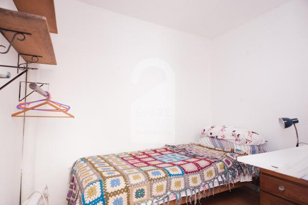 The room at the house in San Telmo.