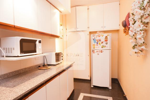 The kitchen in the ca�itas apartment