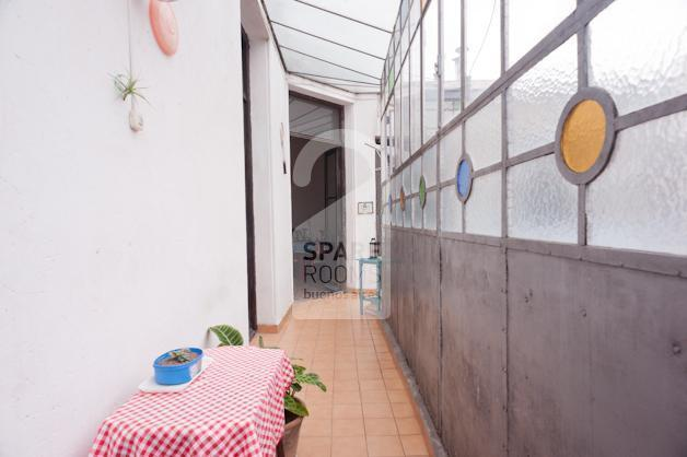 Hallway in the terrace