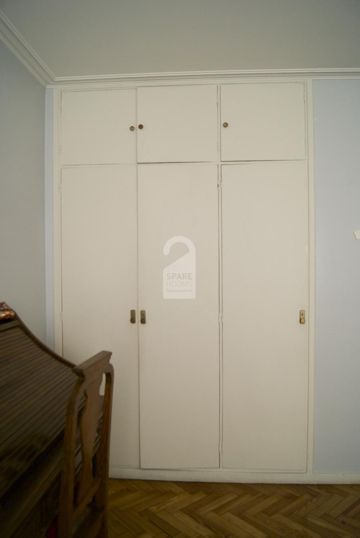 Big closet in the room