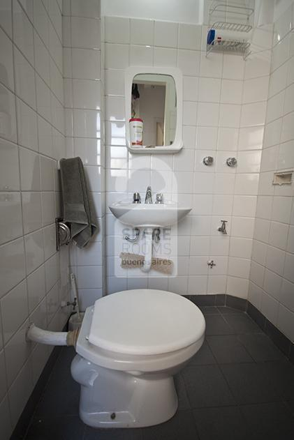 the bathroom before the reform