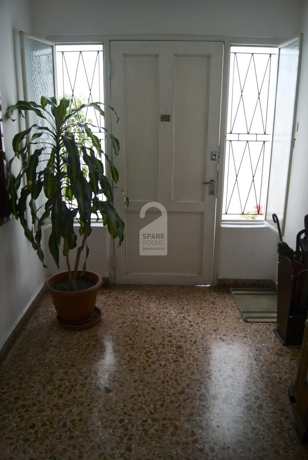 The entrance of the apartment of Palermo Soho