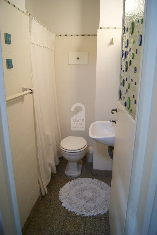 The privaste bathroom