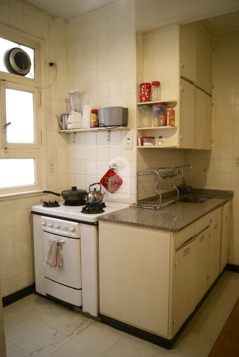Kitchen at Recoleta apartment
