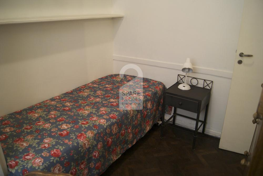The room of the apartment of Recoleta
