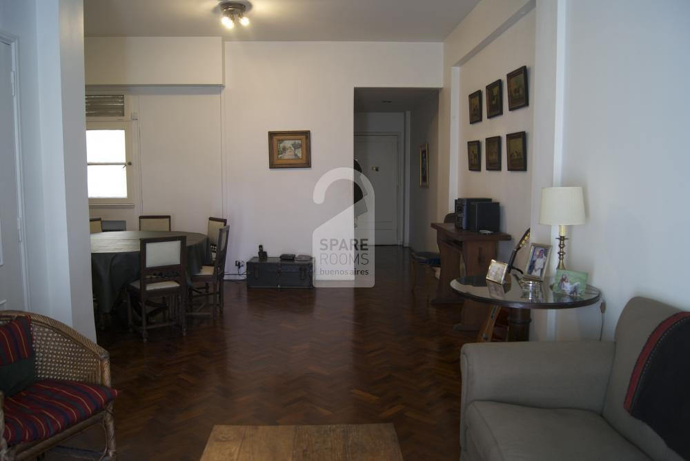 Another view of the Living room in Recoleta