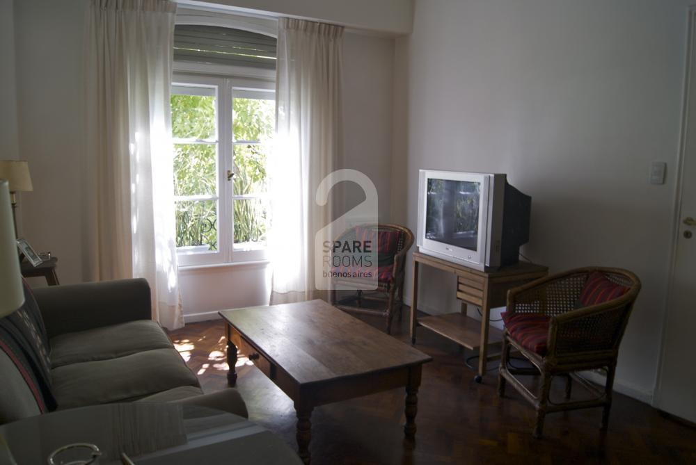 The living room of Recoleta apartment