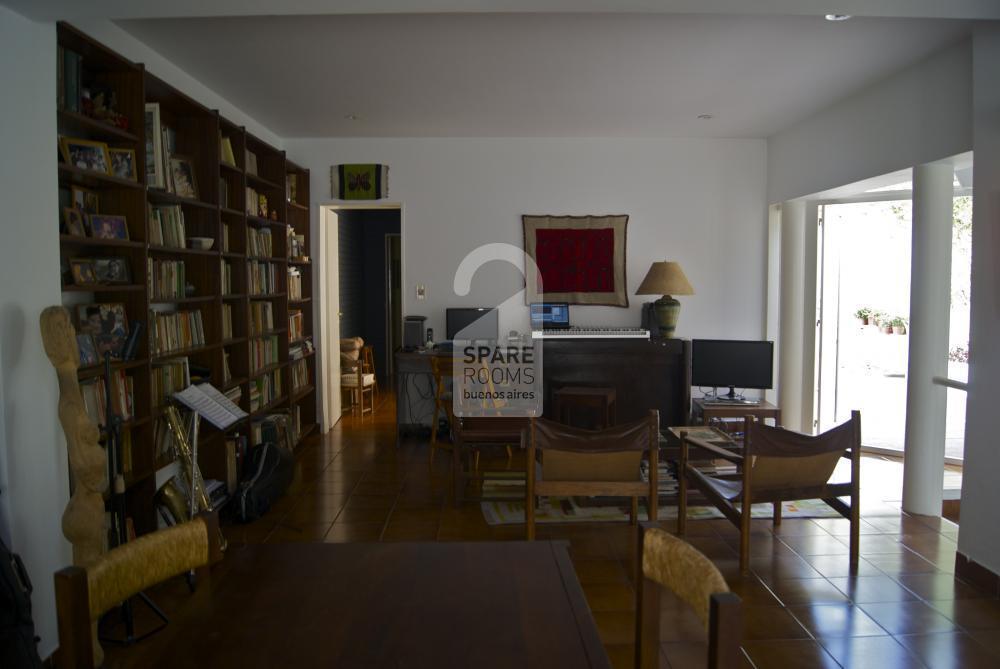 Living room in Palermo Soho
