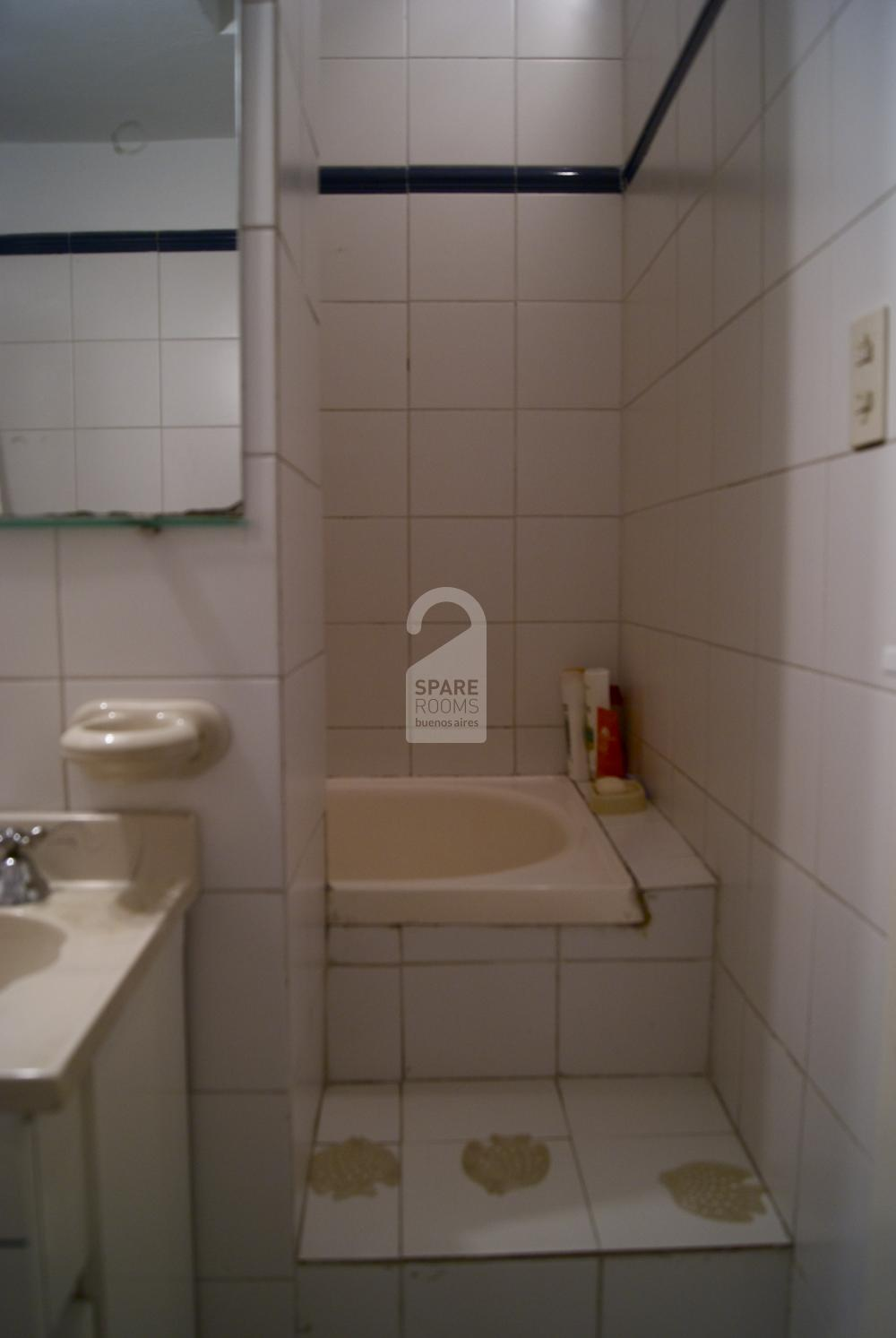 Shared bathroom with the other room