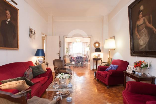 Living room at Recoleta apartment