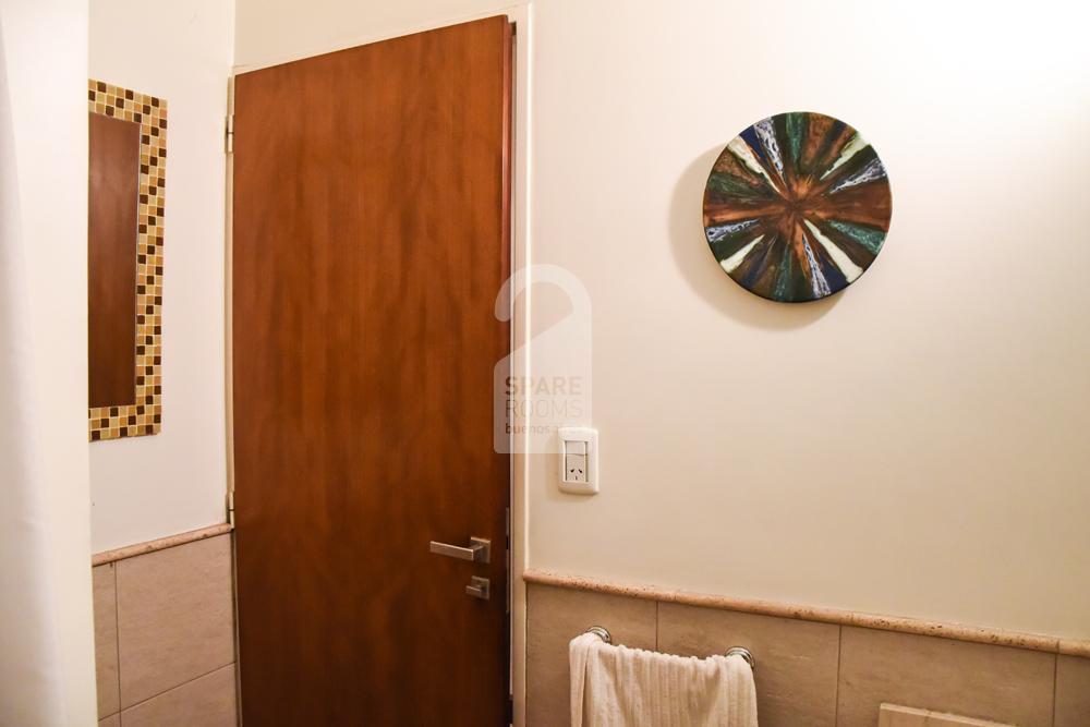 Ground floor toilette