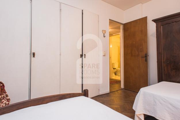 Habitación en Recoleta con baño privado