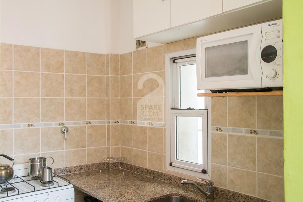 Kitchen at Caballito