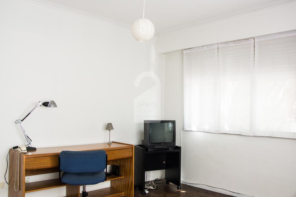 Esccritorio de la habitación en Belgrano