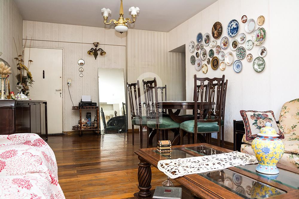 The living-room at the apartment in Belgrano