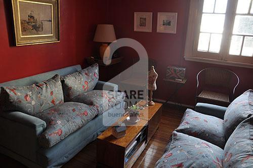 El living room. Departamento en Balvanera