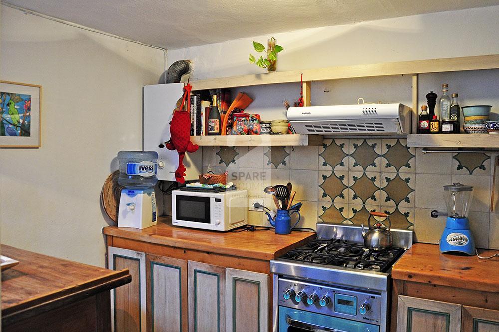 Cocina departamento en San Telmo