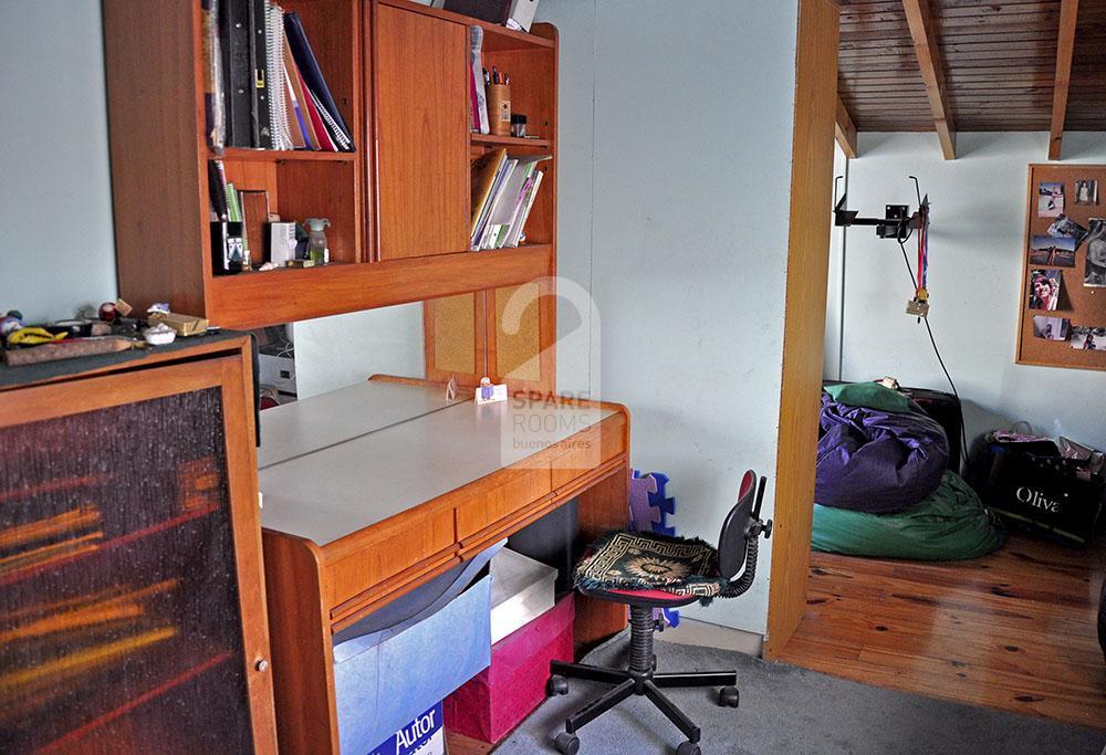 La habitación en el departamento