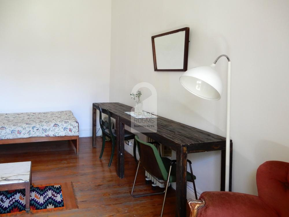 The bedroom in San Telmo