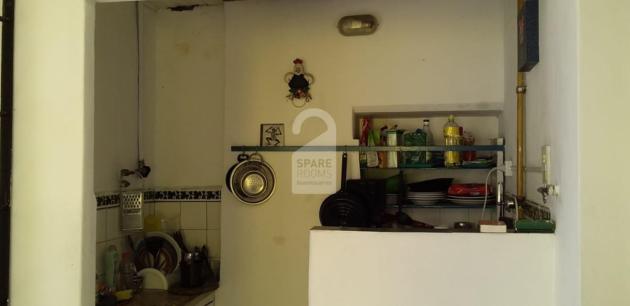 The KITCHEN in the apartment