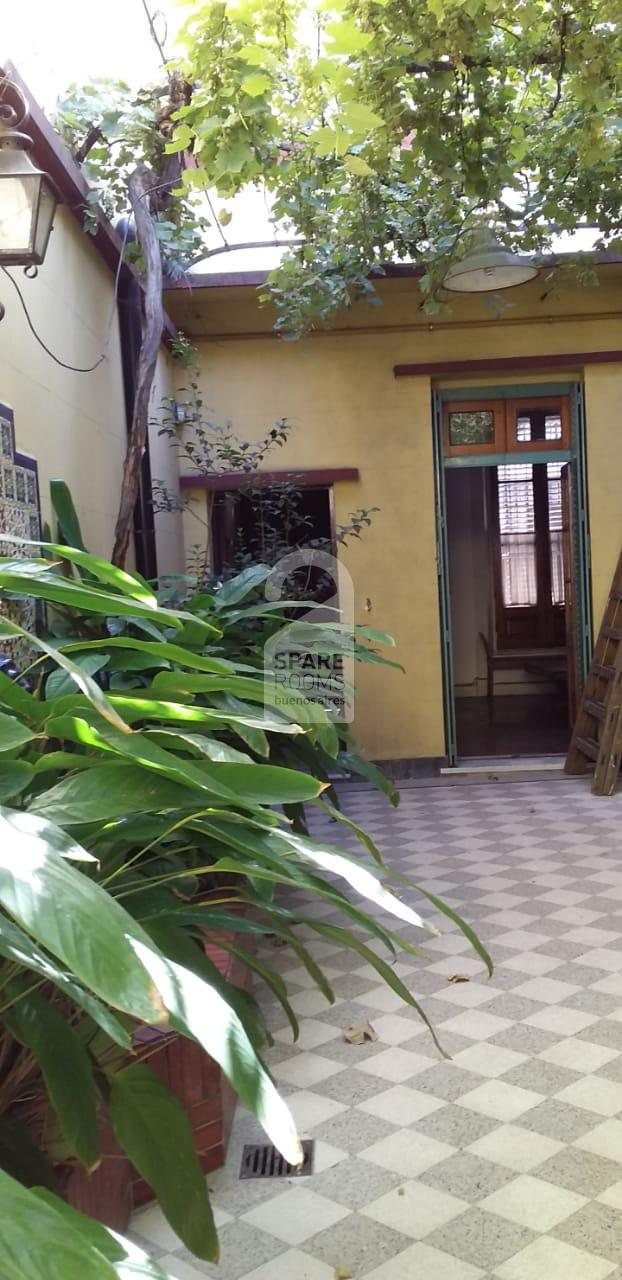 the entrance yard