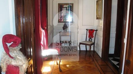 The common areas frech style at the apartment in Downtown/Retiro