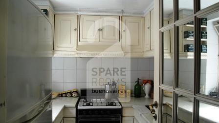 The kitchen at the apartment in Downtown/Retiro