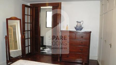 Double room at the French style apartment in Downtown/Retiro