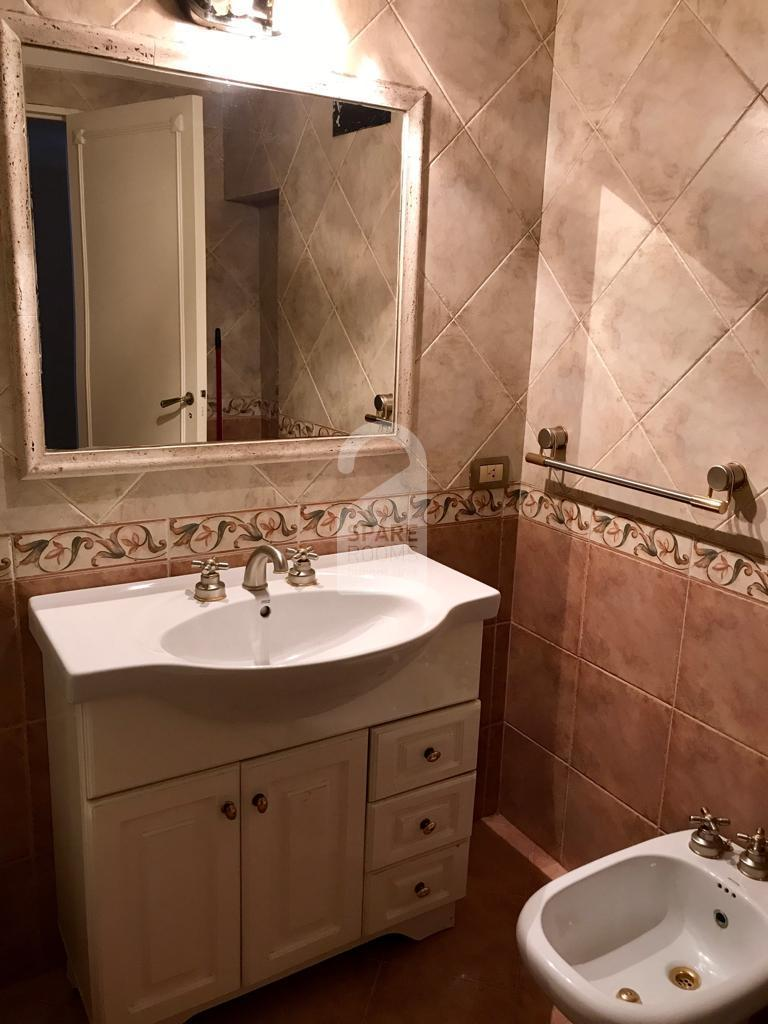 The shared bathroom