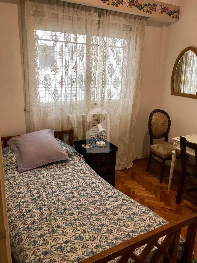 The bedroom in Recoleta