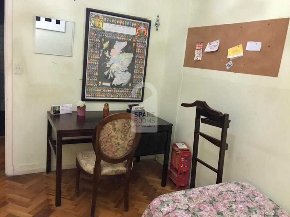 The bedroom in Recoleta