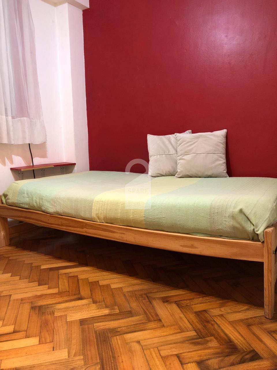 The bedroom at the apartment in Villa Crespo